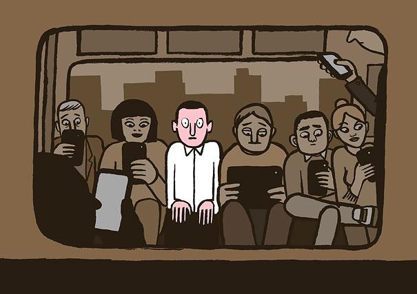 Без телефона в метро никак