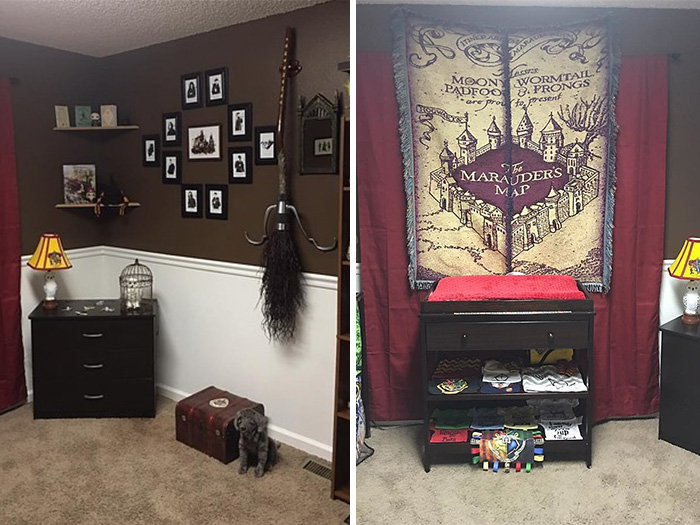 Как украсить комнату в стиле гарри поттера