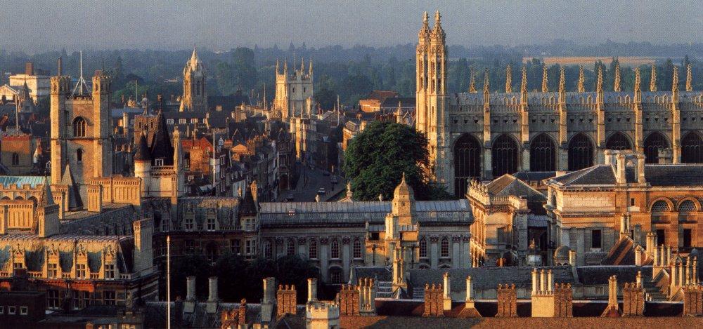 Панорама Кембриджа