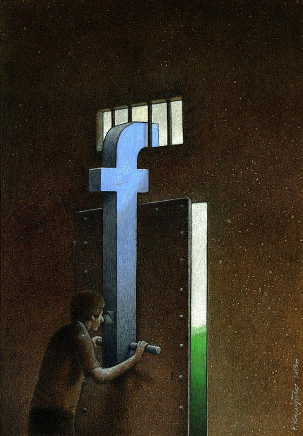 Взгляд на мир через фейсбук