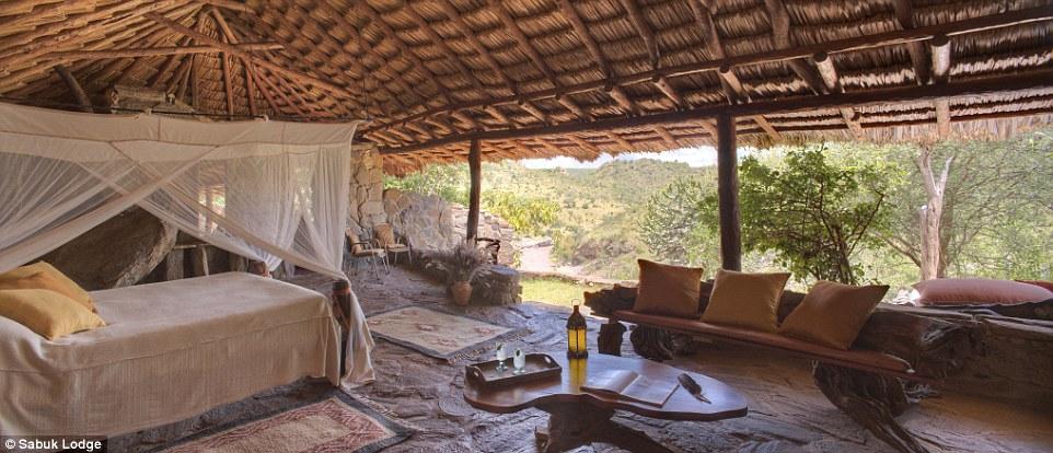 """Кения, гостиница """"Sabuk Lodge"""""""