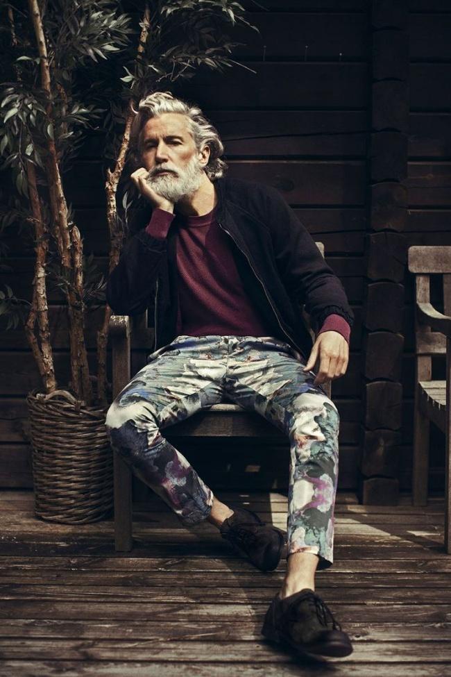 Пенсии не будет: фото зрелых мужчин моделей, которым завидуют молодые