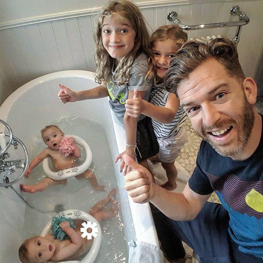Прикольные картинки многодетной семьи