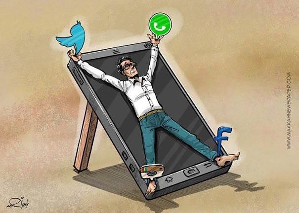 Мы привязаны к этим социальным сетям