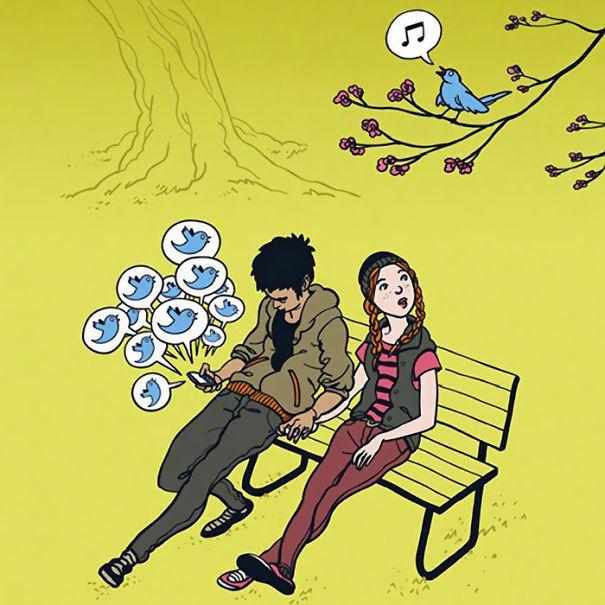 Птицы поют намного красивее, чем приходит сообщение в твиттере