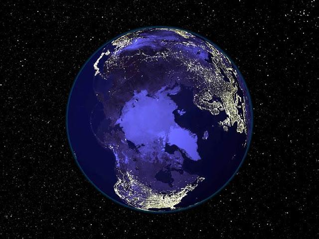 Арктика, северное полушарие