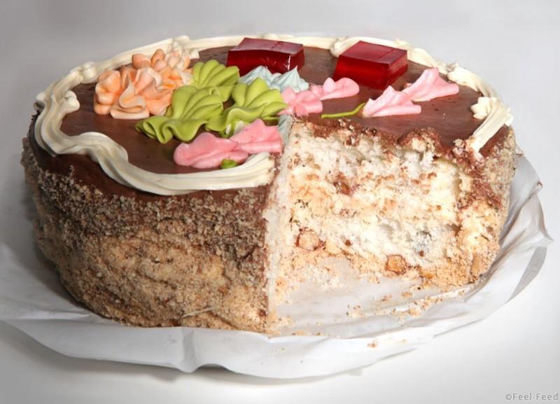 Торт по киевски рецепт с фото