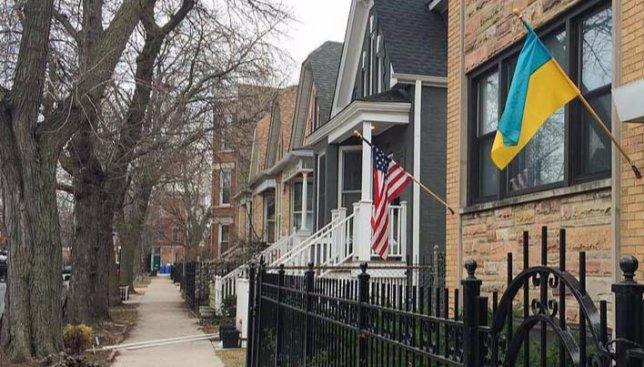 Украинский район в Чикаго признали самым красивым в США
