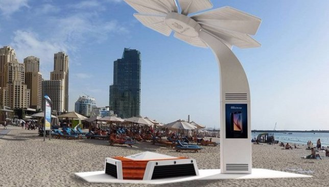 Технологии идут вперед: в Дубае появятся «умные пляжи» (Фото)