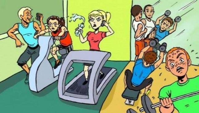 Веселое пособие к первому апреля: как правильно вести себя в тренажерном зале