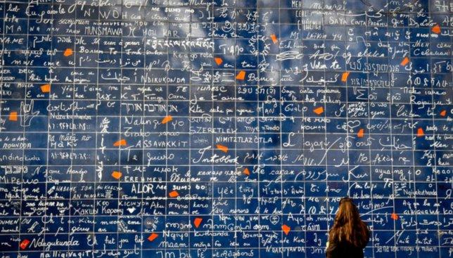 Стена любви в Париже: как на ней отличились украинцы