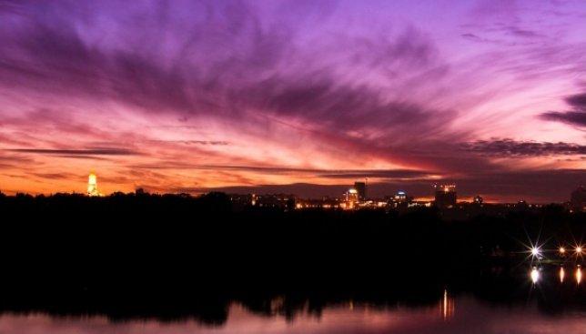 При определении самых красивых закатов в мире Киев опередил Венецию и Майами