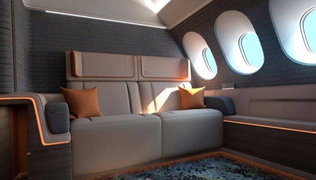 Как выглядят номера люкс на борту самых дорогих самолетов (Фото)