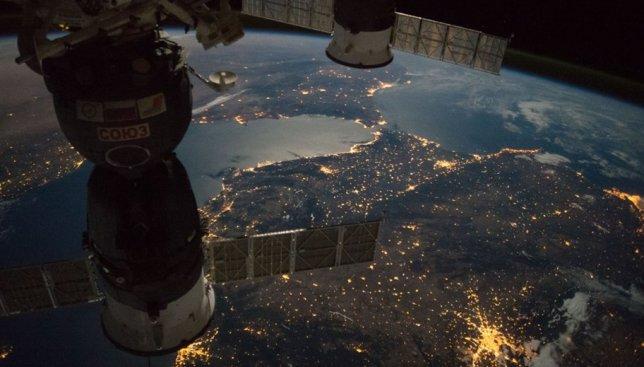4 потрясающих фотографии с космического корабля, опубликованные NASA