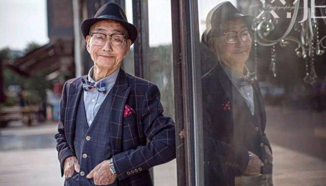 11 фотографий, из-за которых 85-летней дедушка стал фешн-иконой