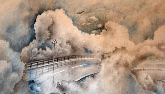 Сегодня день пейзажей, нарисованных чаем: 6 примеров такой живописи (Фото)