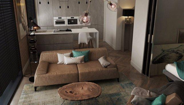 12 фотографий холостяцкой квартиры, в которой захотел бы жить каждый
