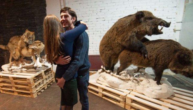 В Санкт-Петербурге открылась выставка «Интимные тайны животных» (Фото)