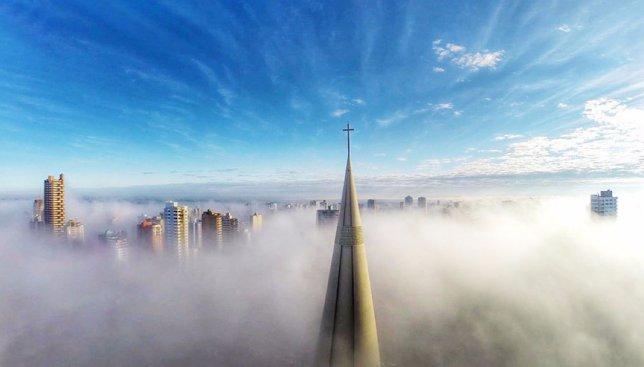 10 невероятных снимков с высоты, которые были признаны лучшими в 2015 году
