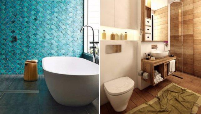 7 трендов, которые будут популярны в 2017 году в дизайне ванных комнат (Фото)