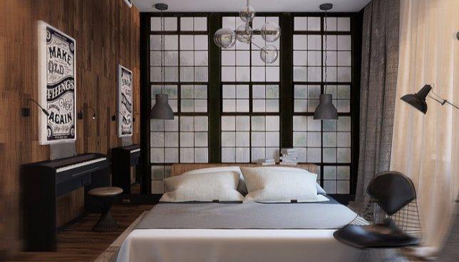 Квартира холостяка: как выглядит современный мужской интерьер (Фото)