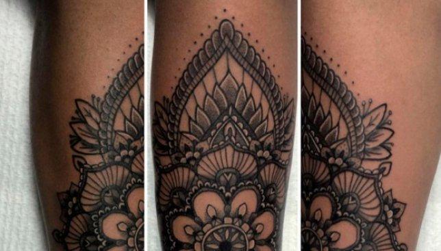 Художница делает бесплатные татуировки для людей, которые питались причинить себе вред (Фото)