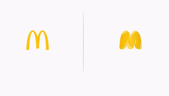 Как бы выглядели известные логотипы, если бы разработчики показывали их реальное действие