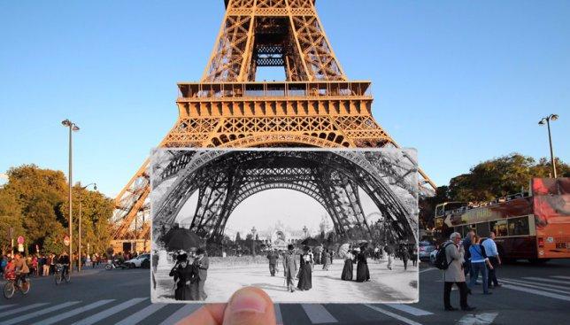 16 фотографий Парижа, которые объединяют историю и современность