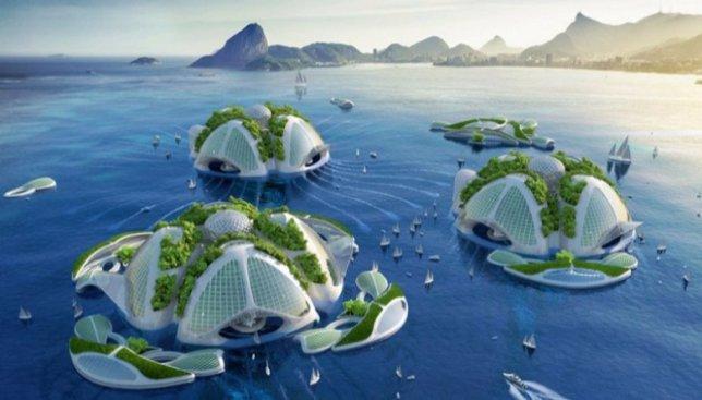 10 самых невероятных архитектурных проектов: какой будет наша планета через десятки лет (Фото)