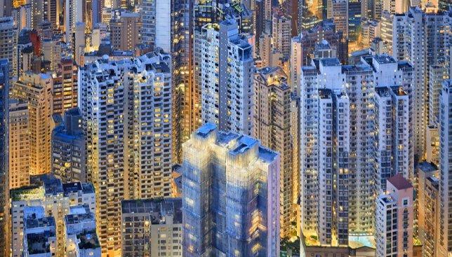 Огни большого города: как выглядит Гонконг после заката (Фото)