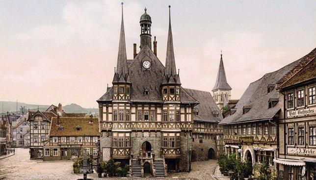 Цветные фотографии Германии 1900 года: до того как она была разрушена войной