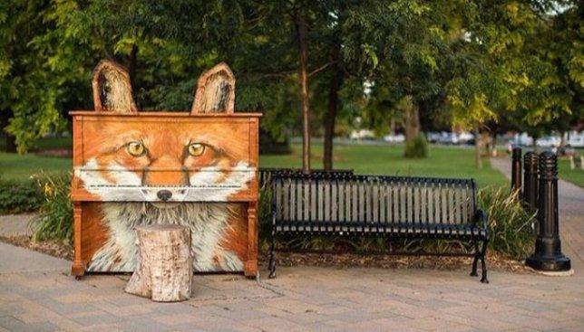 Играй на мне, я твое: пианино, которое объединяет людей со всего мира