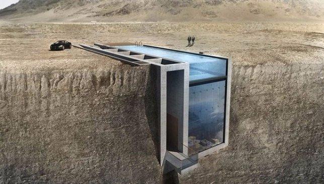 Дом, который находится в скале: опасно и невероятно красиво одновременно