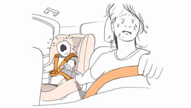 13 самых правдивых рисунков о счастье быть матерью