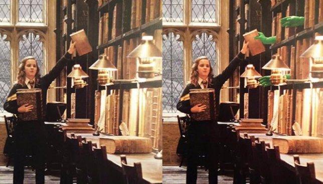 12 фотографий о том, как на самом деле создавали волшебство фильмов о Гарри Поттере