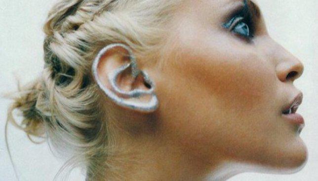Маразм крепчает: теперь в тренде макияж ушей (Фото)
