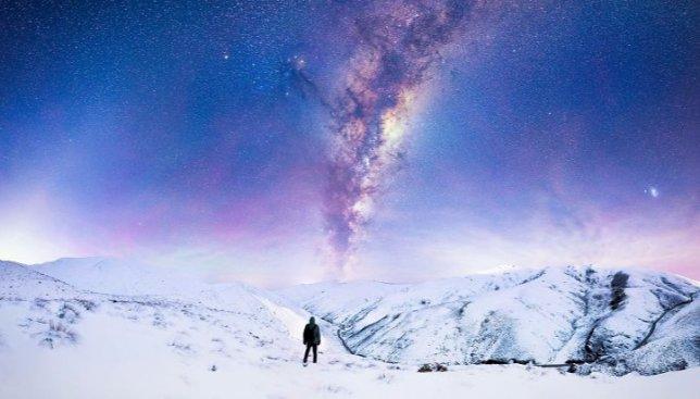 Ночное небо Новой Зеландии: миллионы звезд и Млечный путь (Фото)