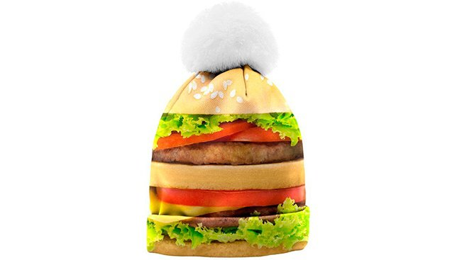 Шапочку с бургером не желаете?