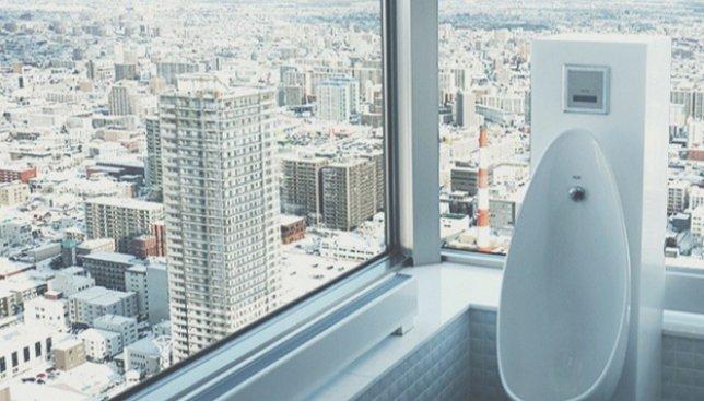 21 фотография туалетов, где вид из окна лучше, чем в Вашей квартире
