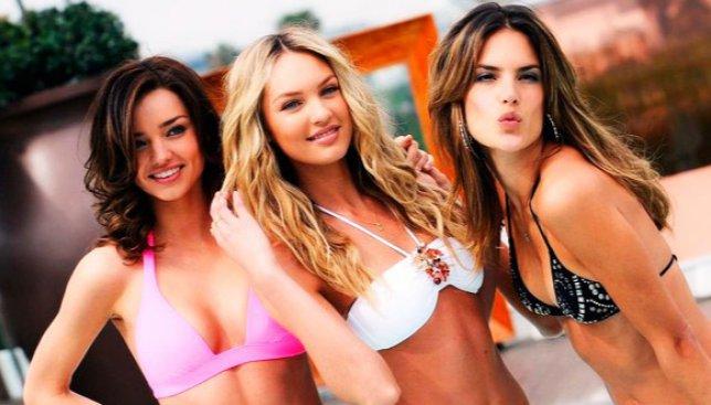 Ангелы Victoria Secret без макияжа