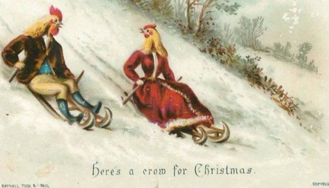 21 рождественская открытка 19 века, которая приведет вас в ужас (Фото)