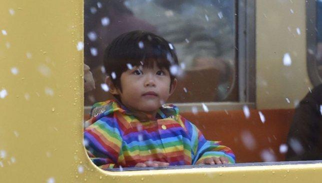 Пока Киев радуется: японцы в шоке от снега, которого не было 50 лет (Фото)