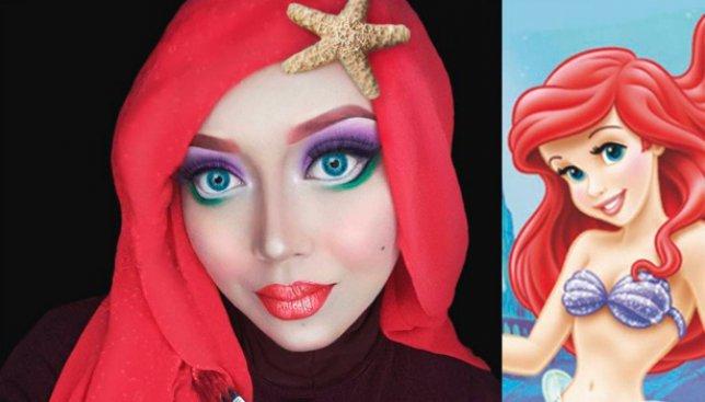 12 фотографий девушки, которая с помощью макияжа делает невероятные перевоплощения