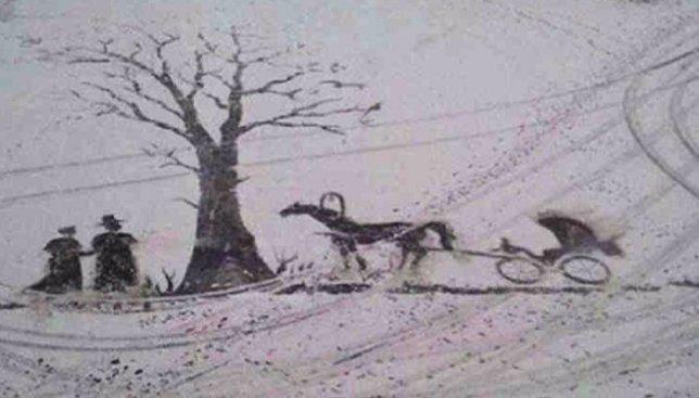 Дворник, который рисует шедевры лопатой по снегу: когда талант не скроешь