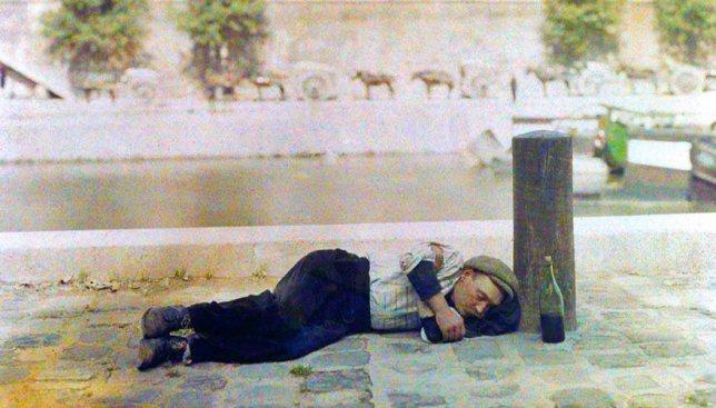 20 цветных фотографий Парижа, которые сделаны более 100 лет назад
