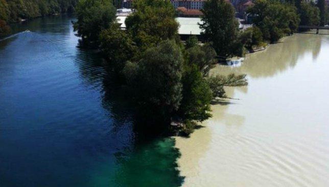 18 фотографий самых живописных в мире слияний рек и морей