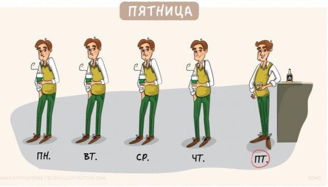 11 забавных иллюстраций, которые показывають всю правду о работе в офисе