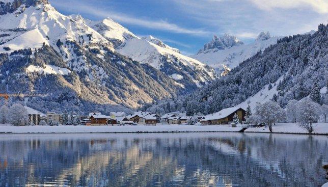 Невероятные масштабы Швейцарских гор поражают своей красотой
