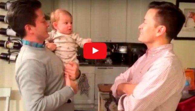Курьезный случай: видео с ребенком, который не понимает, где его папа, покорило интернет