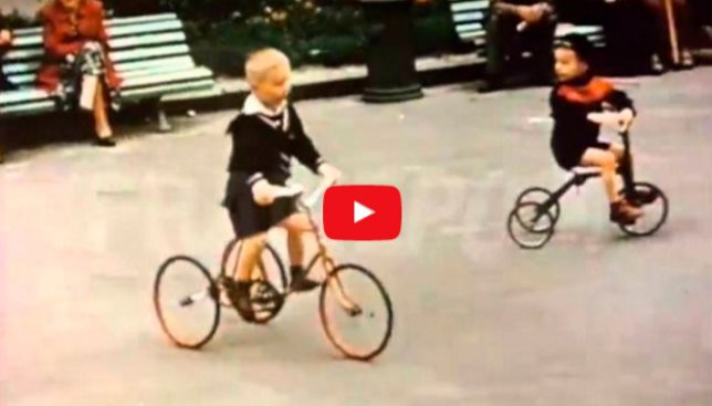 Уникальное архивное видео: Киев 1956 года